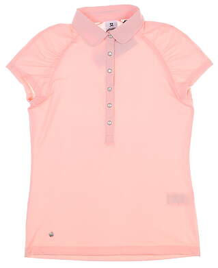 New Womens Daily Sports Ariana Golf Polo Small S Parfait MSRP $100