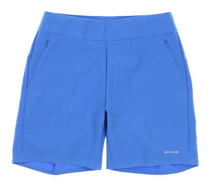New Womens Cutter & Buck Annika Golf Shorts Large L Blue MSRP $110 LAB00009