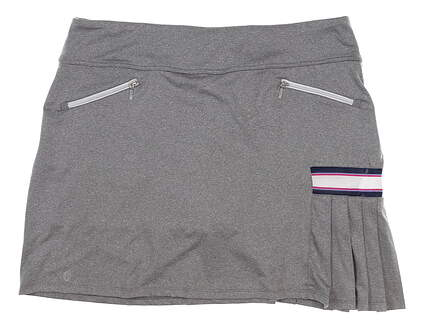 New Womens GG BLUE Golf Skort X-Large XL Gray MSRP $65