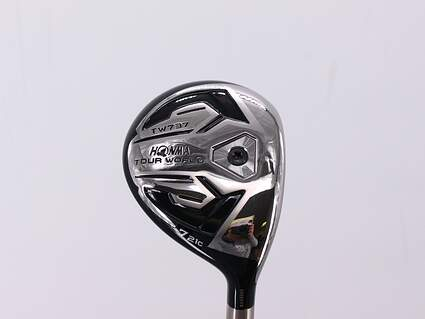 Honma TW737 FWC Fairway Wood 7 Wood 7W 21° Mitsubishi Diamana M+ Red 50 Graphite Lite Right Handed 42.0in