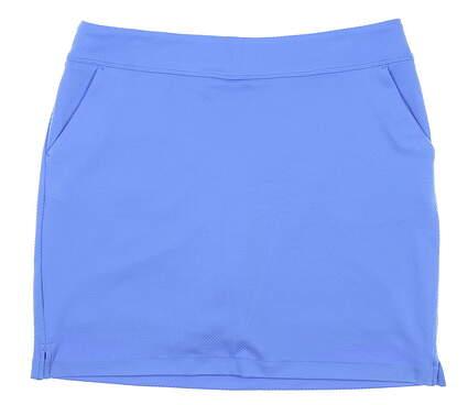 New Womens Greg Norman Golf Skort Large L Blue MSRP $69 G2S8H491