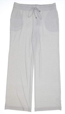 New Womens Fairway & Greene Sydnee Lounge Pants Medium M Chinchilla MSRP $96 I12289
