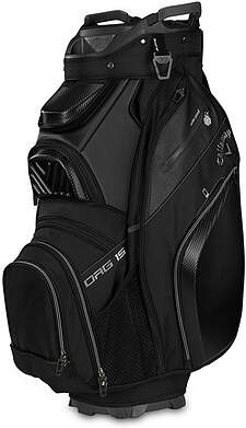 Brand New Callaway 2019 Org 15 Black Golf Cart Bag