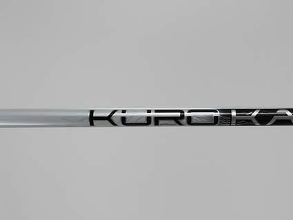 Used W/ Adapter Mitsubishi Rayon Kuro Kage Silver TiNi 60 Driver Shaft Stiff 45.5in