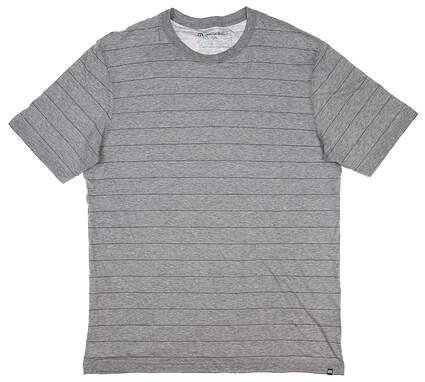 New Mens Travis Mathew T-Shirt Large L Gray MSRP $60