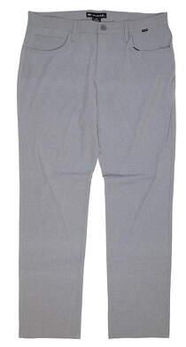 New Mens Travis Mathew Beckladdium Golf Pants 36 Gray MSRP $130 1MQ176