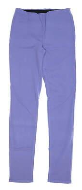 New Womens Straight Down Pull On Golf Pants X-Small XS Purple MSRP $148 W50111