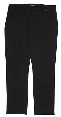 New Mens Travis Mathew Beckladdium Golf Pants 36 Black MSRP $130 1MQ176