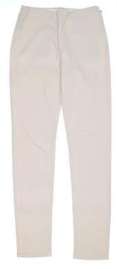 New Womens Straight Down Pull On Golf Pants X-Small XS Khaki MSRP $148 W50111