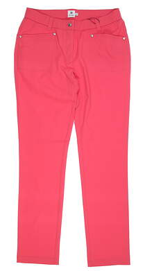New Womens Daily Sports Lyric Golf Pants 10 Pink MSRP $140 943265