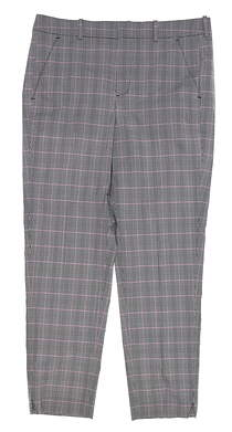 New Womens Ralph Lauren Plaid Golf Pants 8 Multi MSRP $100
