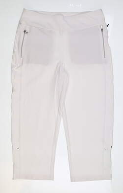New Womens Tail Capris 10 White MSRP $89 GR4484-0014