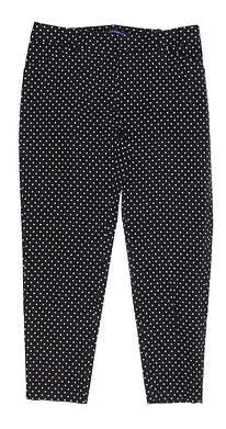 New Womens Ralph Lauren Pants 6 Black MSRP $145 6865770