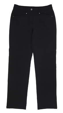 New Womens Nivo Sport Zea Pants 8 Black MSRP $112 NI7210406