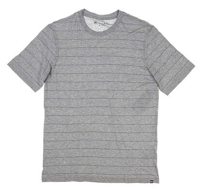 New Mens Travis Mathew T-Shirt Small S Gray MSRP $60