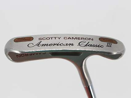 Titleist Scotty Cameron American Classic III Putter Steel Right Handed 35.0in