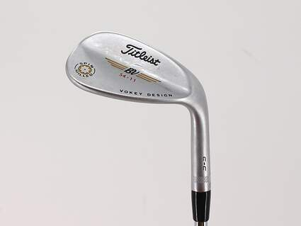 Titleist Vokey Spin Milled CC Chrome Wedge Sand SW 54° 11 Deg Bounce Nippon NS Pro 970 Steel Regular Right Handed 35.25in