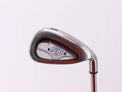 Callaway X-14 Single Iron 8 Iron Callaway X Steel Steel Uniflex Right Handed 36.5in