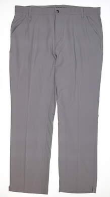 New Mens Adidas Golf Pants 38x32 Gray MSRP $85 BC1620