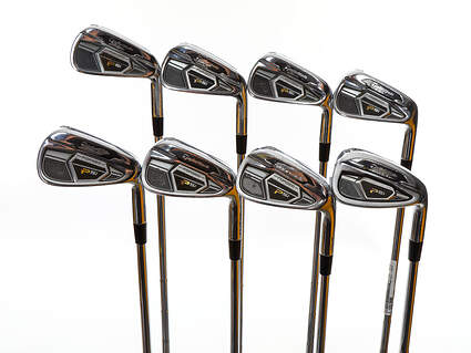 TaylorMade PSi Tour Iron Set 4-PW GW Dynamic Gold Tour Issue X100 Steel X-Stiff Right Handed 38.5in