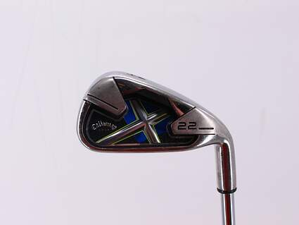 Callaway X-22 Single Iron 4 Iron True Temper Steel Uniflex Right Handed 38.0in