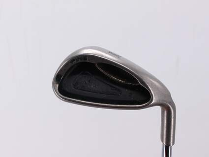 Ping G2 Single Iron Pitching Wedge PW Stock Steel Shaft Steel Stiff Right Handed 35.5in