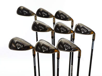 Callaway Fusion Wide Sole Iron Set 3-PW GW Callaway Fusion Wide Sole Grap Graphite Regular Right Handed 38.0in