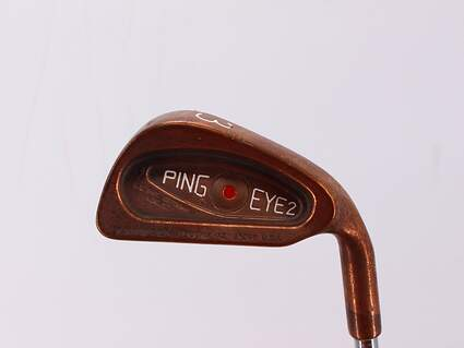 Ping Eye 2 Beryllium Copper Single Iron 3 Iron True Temper Steel Regular Right Handed Red dot 38.5in