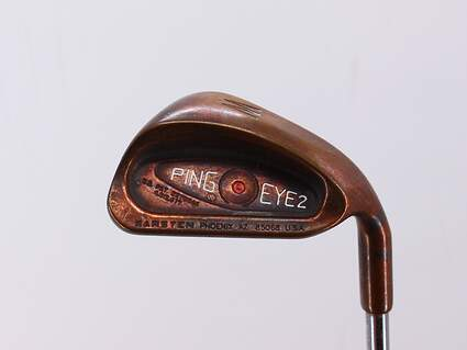 Ping Eye 2 Beryllium Copper Single Iron Pitching Wedge PW Ping Z-Z65 Steel Regular Right Handed Red dot 35.5in