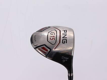 Ping G15 Draw Driver 9° Ping Aldila 350 Series Graphite Senior Right Handed 46.25in