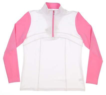New Womens Sport Haley 1/4 Zip Pullover Medium M Multi MSRP $88 H39210TM