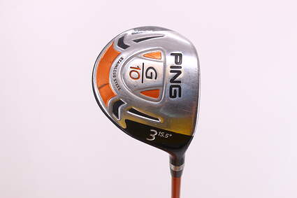 Ping G10 Draw Fairway Wood 3 Wood 3W 15.5° Ping TFC 129F Graphite Stiff Right Handed 43.0in