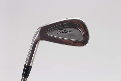 Titleist 731PM Single Iron 3 Iron Aerotech SteelFiber i80 Graphite Stiff Left Handed 40.0in