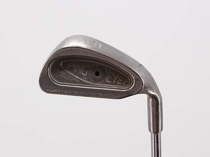 Ping Eye 2 Single Iron 5 Iron Ping JZ Steel Stiff Right Handed Black Dot 38.0in