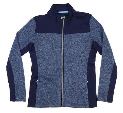 New Womens Straight Down Alexa Jacket Medium M Blue MSRP $104 W60286