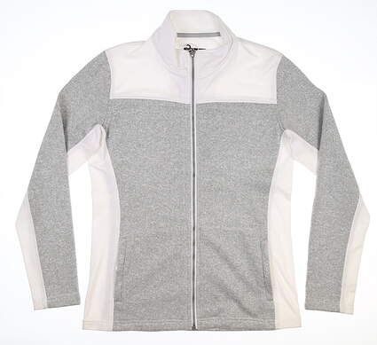 New Womens Straight Down Alexa Jacket Medium M Gray MSRP $100 W60286