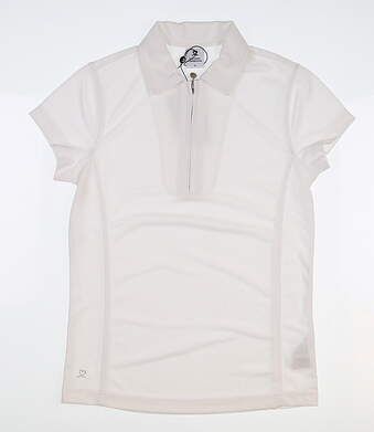 New Womens Daily Sports Macy Polo Small S White MSRP $70 001/101