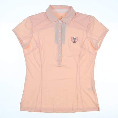 New W/ Logo Womens Zero Restriction Holly Polo Small S Ballet MSRP $89 0722L