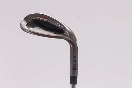 Ping Tour Gorge Wedge Sand SW 56° Wide Sole Ping CFS Steel Stiff Right Handed Black Dot 35.5in