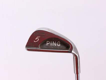 Ping Karsten III Single Iron 5 Iron Ping KT Steel Stiff Right Handed 38.5in