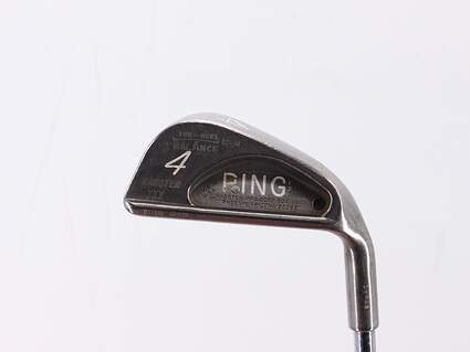 Ping Karsten III Single Iron 4 Iron True Temper Steel Stiff Right Handed Black Dot 37.75in