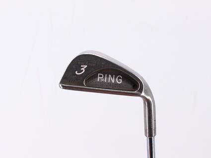 Ping Karsten III Single Iron 3 Iron True Temper Steel Stiff Right Handed Black Dot 38.75in