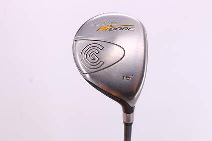 Cleveland Hibore Fairway Wood 3 Wood 3W 15° Cleveland Fujikura Fit-On Gold Graphite Regular Right Handed 43.25in