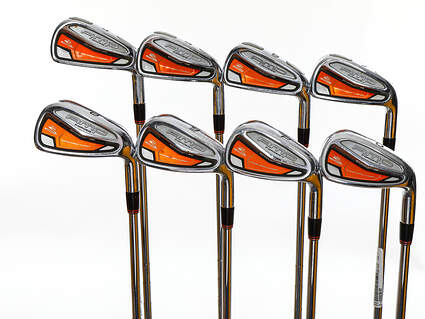 Cobra AMP Forged Iron Set 4-PW GW FST KBS Tour Steel Stiff+ Right Handed 37.75in