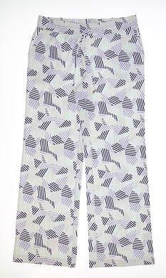 New Womens Fairway & Greene Pants Medium M Multi MSRP $90 I12289
