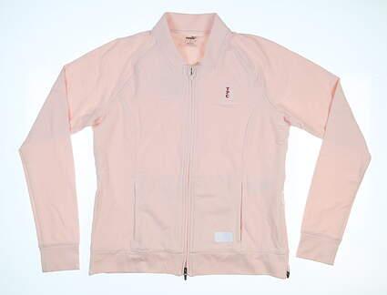 New W/ Logo Womens Puma Jacket X-Large XL Pink MSRP $100 595845 04