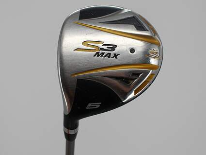 Cobra S3 Max Offset Fairway Wood 5 Wood 5W Cobra Fujikura Blur TX 006 Graphite Senior Left Handed 43.0in