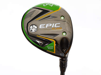 Mint Callaway EPIC Flash Fairway Wood 7 Wood 7W 20° Project X Even Flow Green 65 Graphite Stiff Right Handed 42.75in