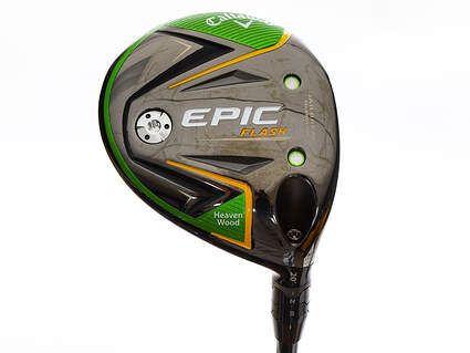 Mint Callaway EPIC Flash Fairway Wood Heaven Wood 20° Project X Even Flow Green 55 Graphite Stiff Right Handed 42.75in