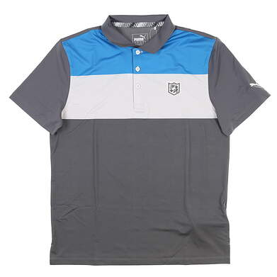 New W/ Logo Youth Puma Boys Nineties Polo Large L Multi MSRP $40 578134 01